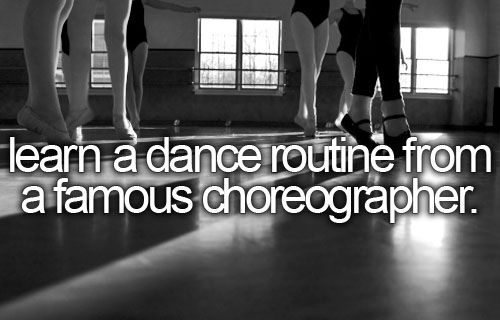 how to learn a dance routine fast