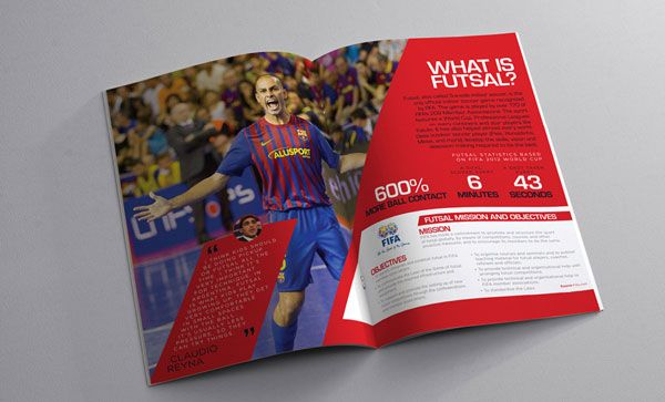 USA Futsal Brochure Designs Ideas 2 20 Best U0026 Beautiful Brochure Design  Ideas For Your Inspiration
