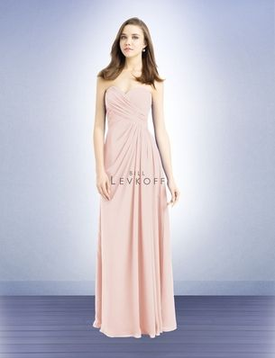 64e7221f2e9df Bridesmaid Dress Style 732 - Bridesmaid Dresses by Bill Levkoff Colors:  Champagne or Petal Pink