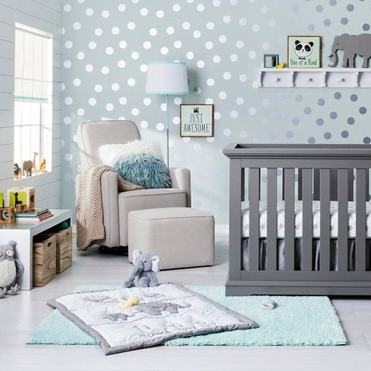 Trend Lab 3 Piece Crib Bedding Set - Safari Chevro