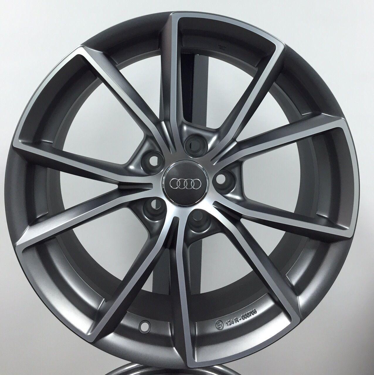 "Cerchi in lega Audi A3 A4 A6 Q3 Q5 da 17"" Nuovi S Line MM035 Omologati Ece Nad | eBay"