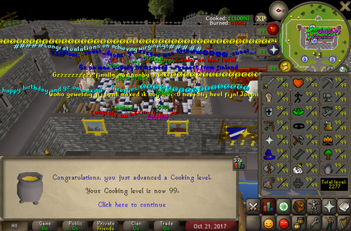 Finally achieved 99 cooking #runescape #game #rs Buy rs gold cheap
