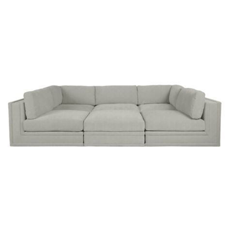 Prime Luka Pit Sectional 6 Pc In 2019 Sofa Sectional Pit Theyellowbook Wood Chair Design Ideas Theyellowbookinfo