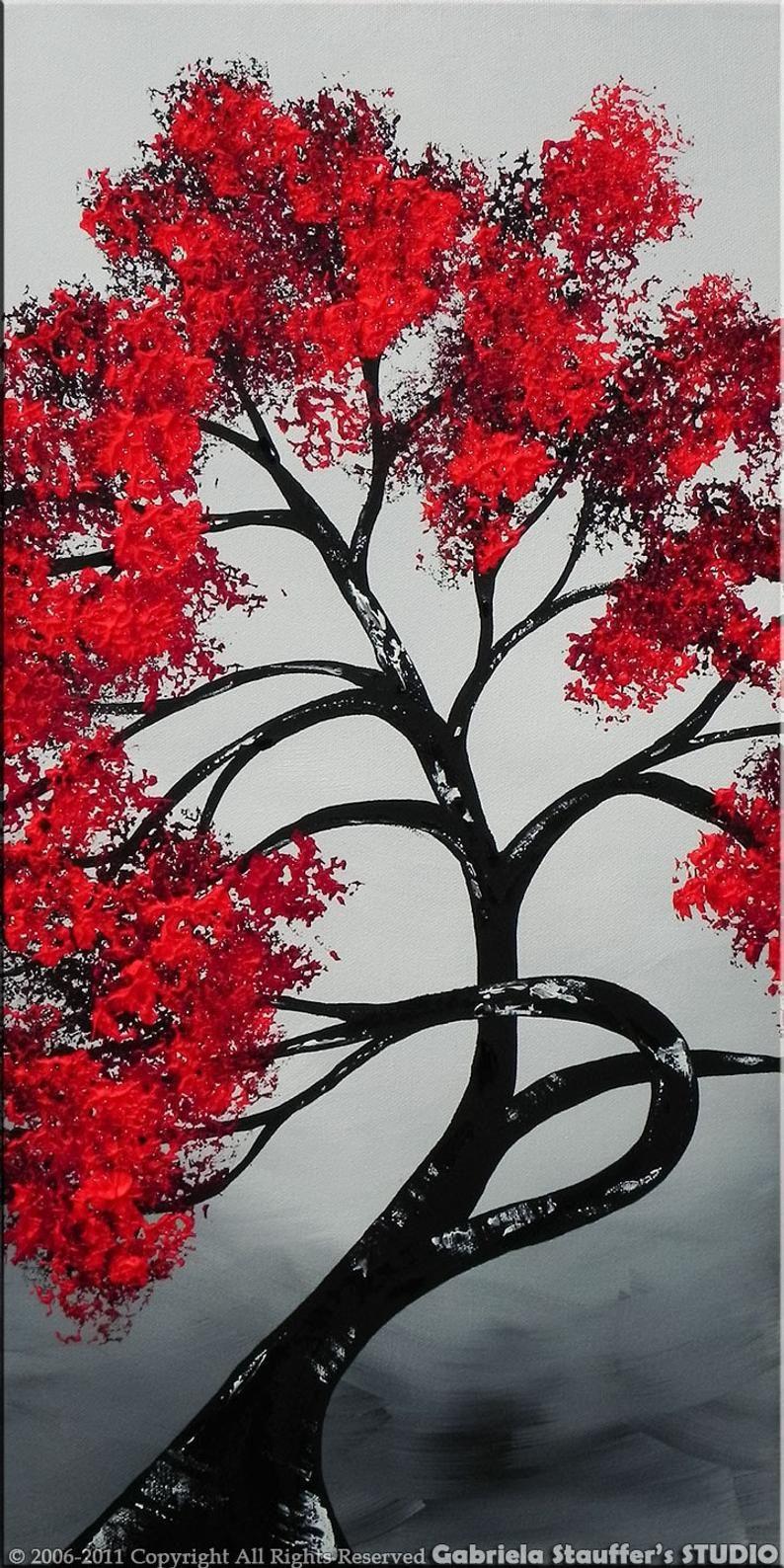 Park Art My WordPress Blog_Red And Black Wall Art Canvas