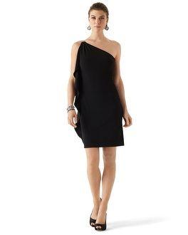 White Market Black Long Evening Dresses