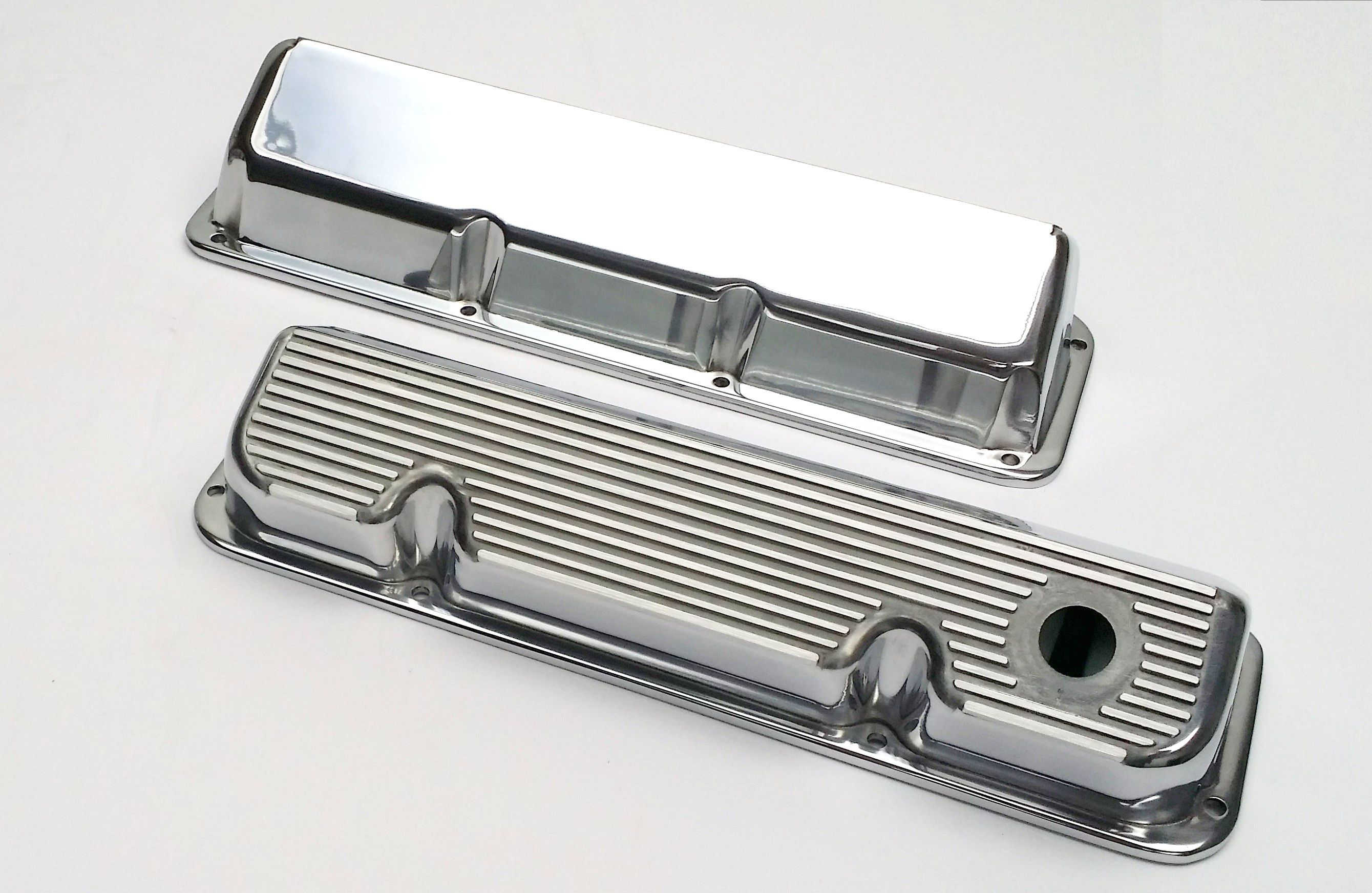 ford #351C #cleveland #polished #valvecovers #allfins | ford 351 ...
