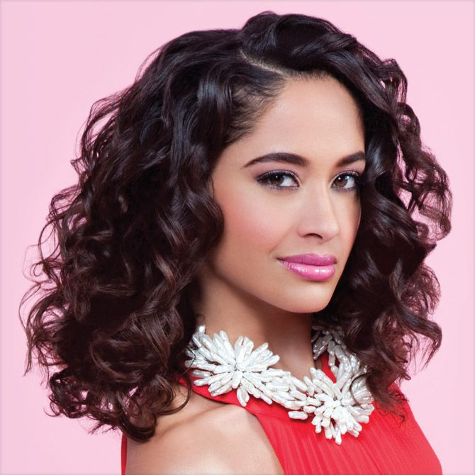 Curly Hair Extra Long Spiral Curlformers Short Spiral Curls Barrel Curls Curly Hair Styles Black Hair Magazine