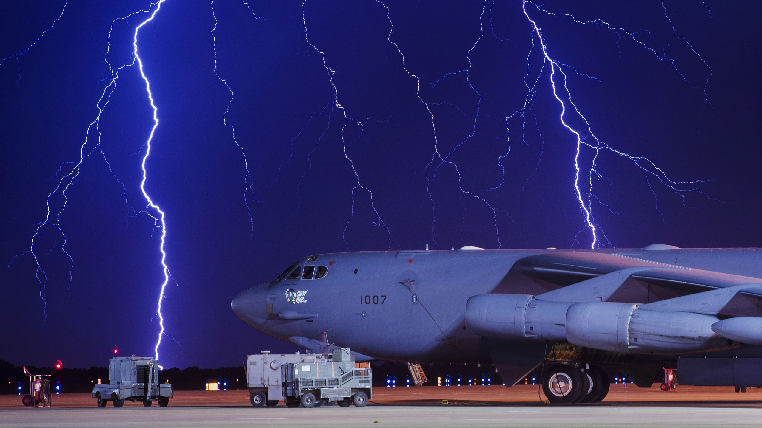 Flightline Lightning at US Air Force. Photo by Senior