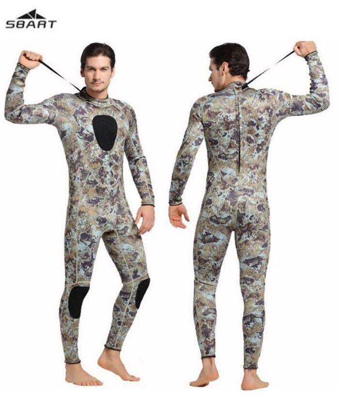2017 NEW SBART Camouflage 3MM Neoprene Wetsuit Spearfishing Camo Swimming  Surfing Diving Neoprene Wet Suit  Affiliate bfdb22765