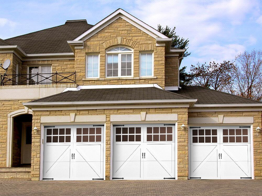 2 Car Garage Door Opening Size intended for Residence