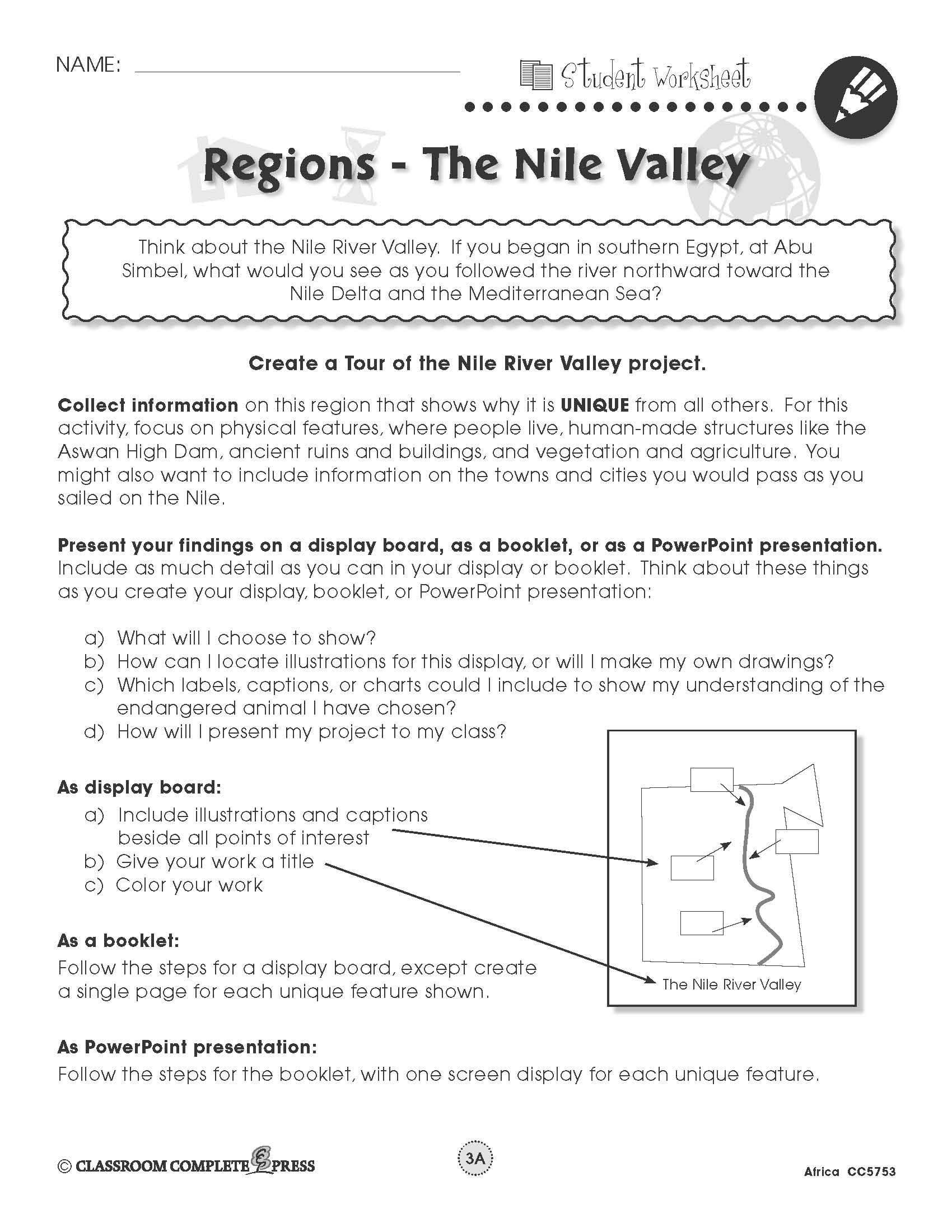 Create A Tour Of The Nile River Valley In Egypt With This