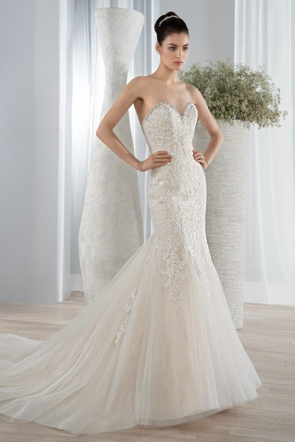Bridal Gown Demetrios - Style 590 | I Like These Strapless Wedding ...