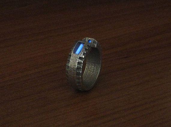 Tritium Mechano Ring by InnovoDesign on Etsy 6500 Wedding