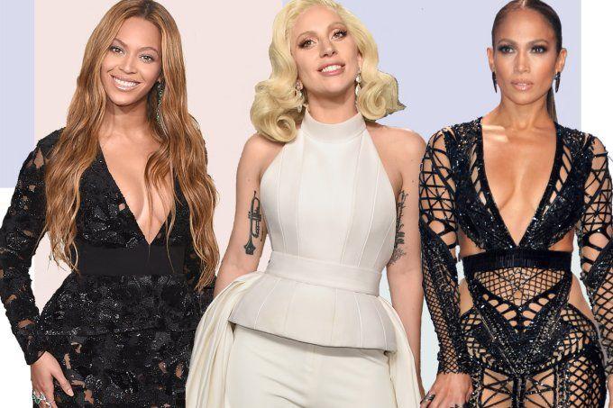 Os produtos de beleza dos camarins de Lady Gaga, Beyoncé e J. Lo