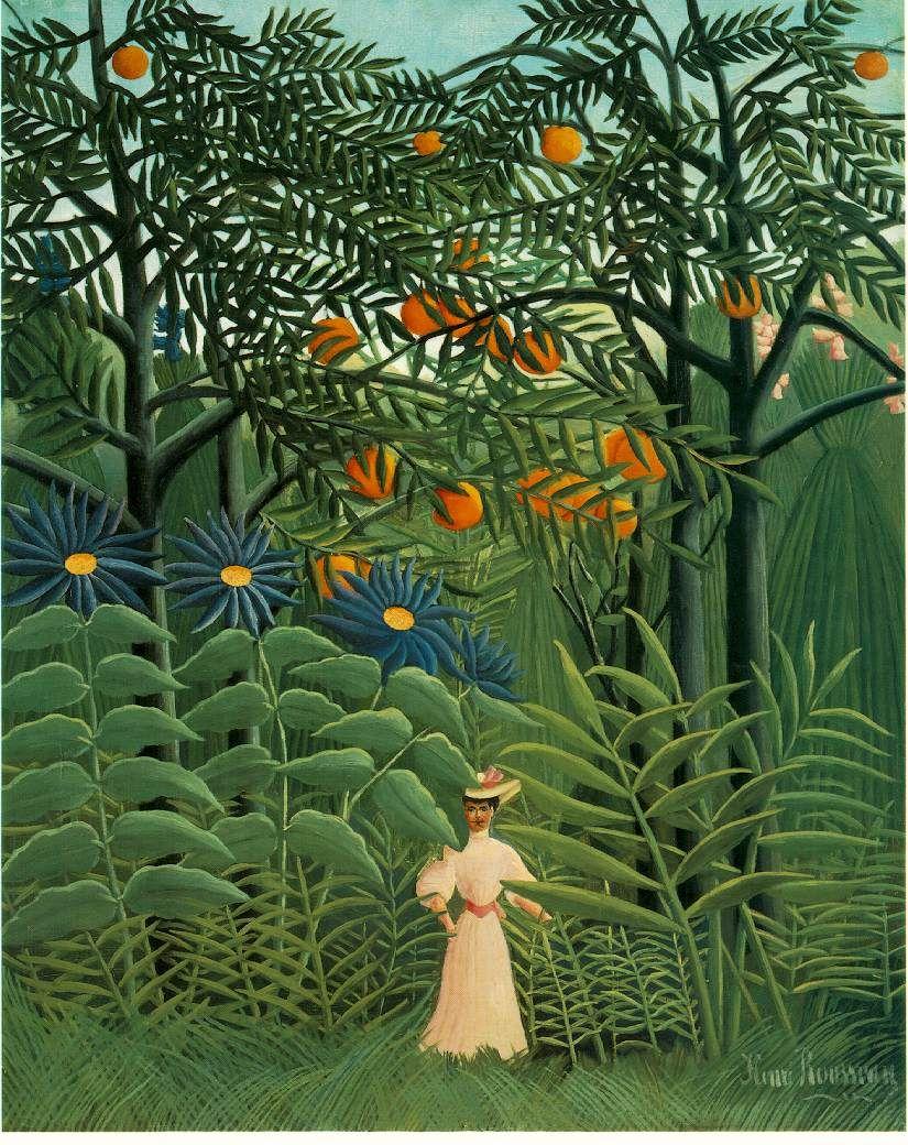 Pinturas De Henri Rousseau Les Arts Henri Rousseau Comment Peindre