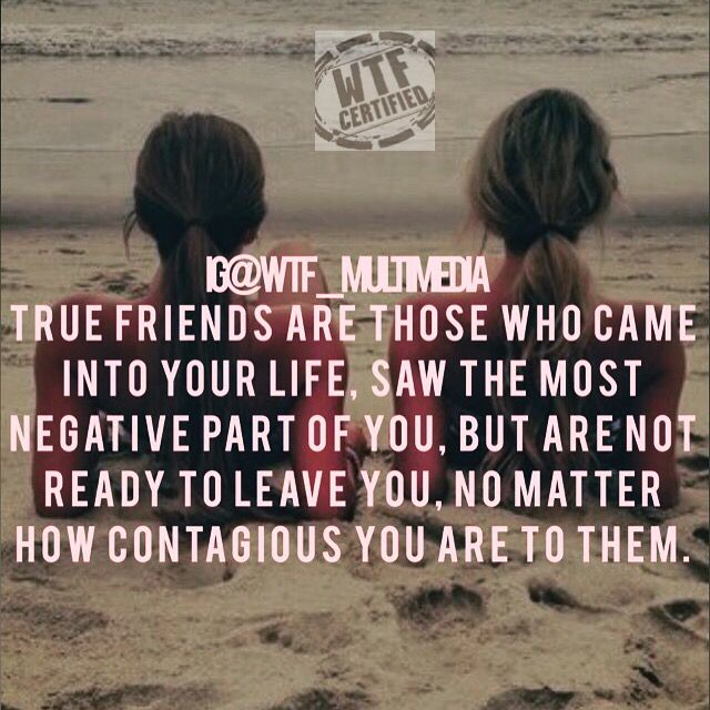 True friends are so rare these days. When you find one hold on to them for life! Double tap and tag your true friend! #truefriends #realfriendsarehardtofind #luxquotes #wtfmm #bossbabe #womenintech #bossbabequotes