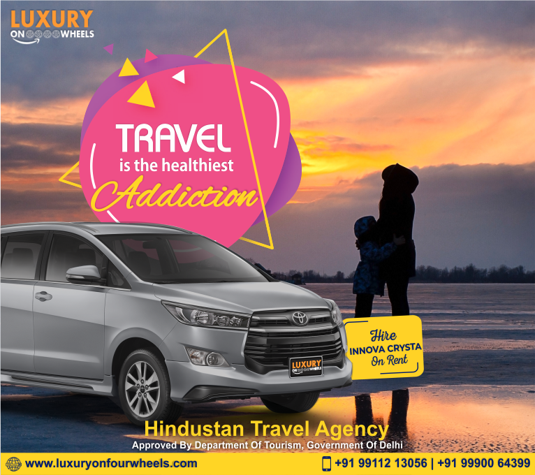 Toyota Innova Crysta On Rent In Delhi Rent A Car Tourism Department Travel