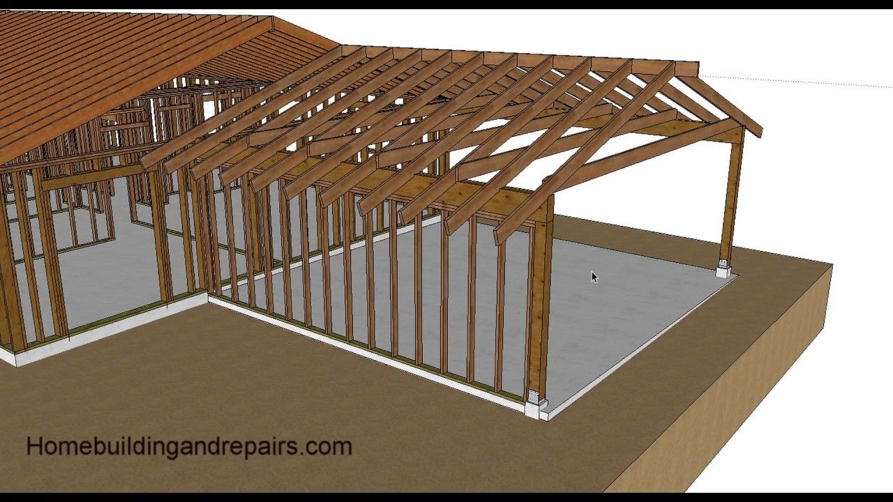 Watch this Video Before Turning Your Carport into a Garage