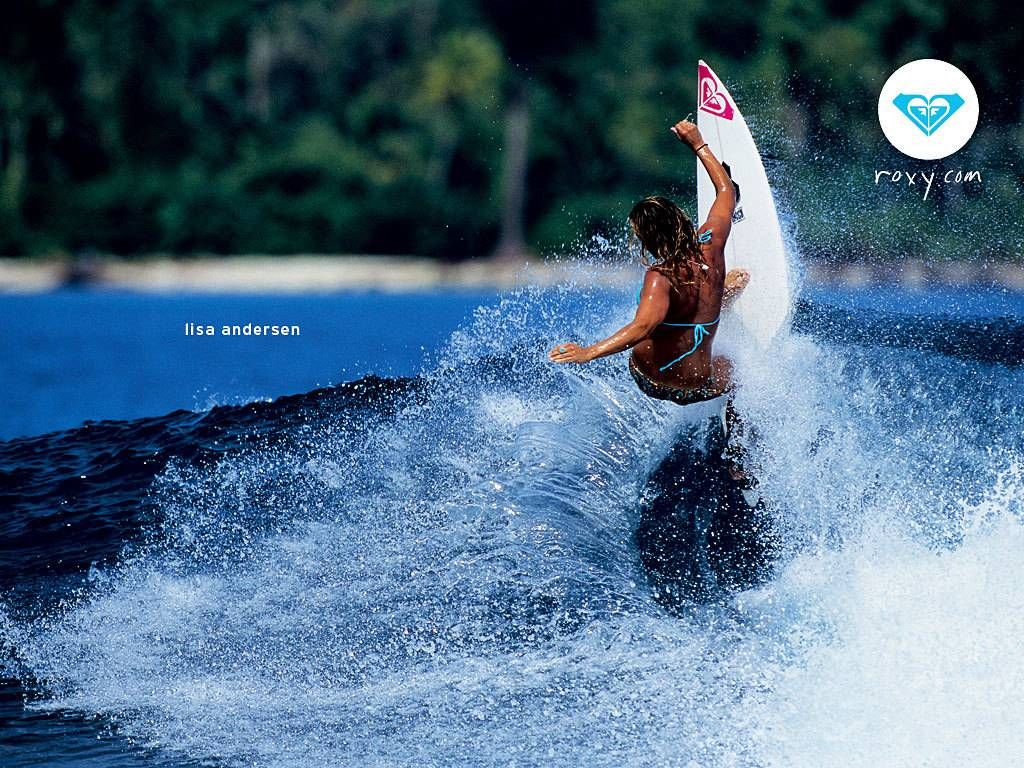 Roxy Girls Surfing Wallpaper サーファー サーファースタイル