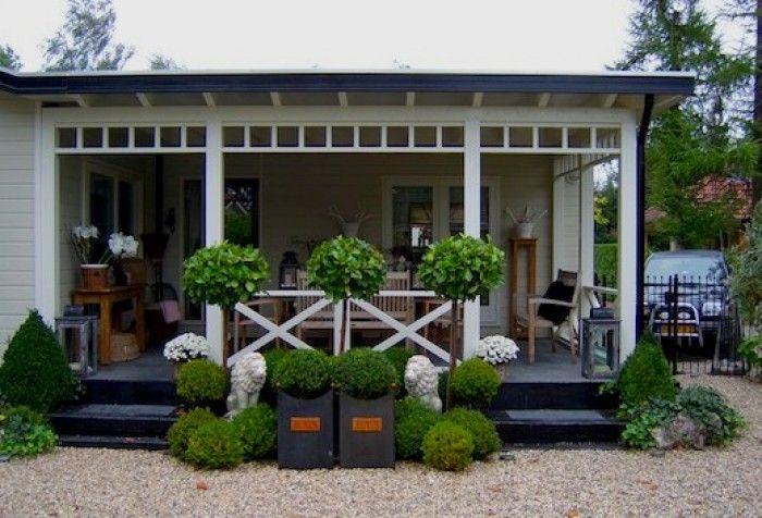 van pallets een veranda afscheiding google zoeken tuin