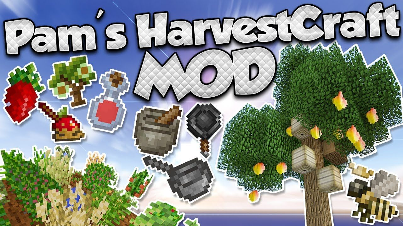 Minecraft Kitchen Mod 1.12.2 Pam S Harvestcraft Mod 1 12 2 1 11 2 Adds 60 New Crops To
