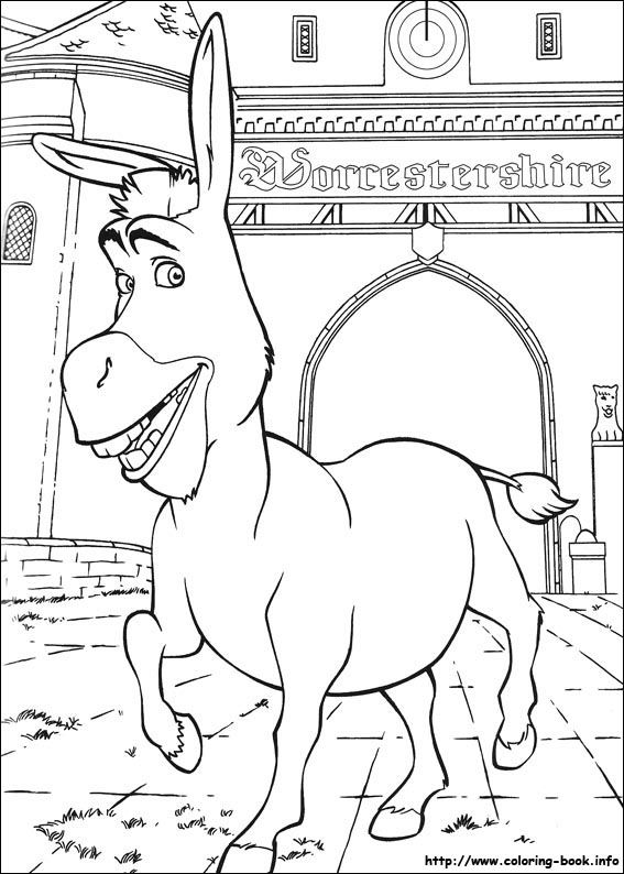Shrek Printable Coloring Pages - Coloring Home   794x567