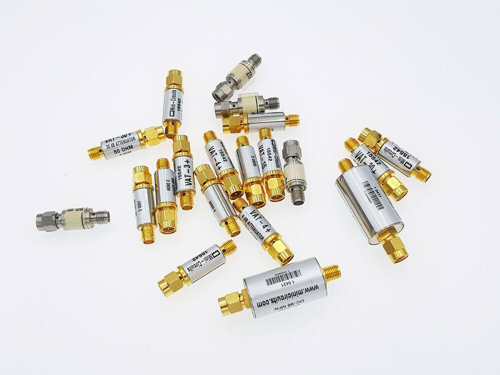 SET Mini-Circuits Coaxial Fixed Attenuator + Filter + DC
