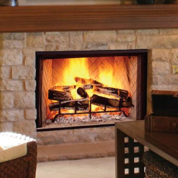 Majestic 42 Biltmore Wood Burning Fireplace Pictureplacemeant