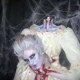 disfraz de maria antonieta decapitada