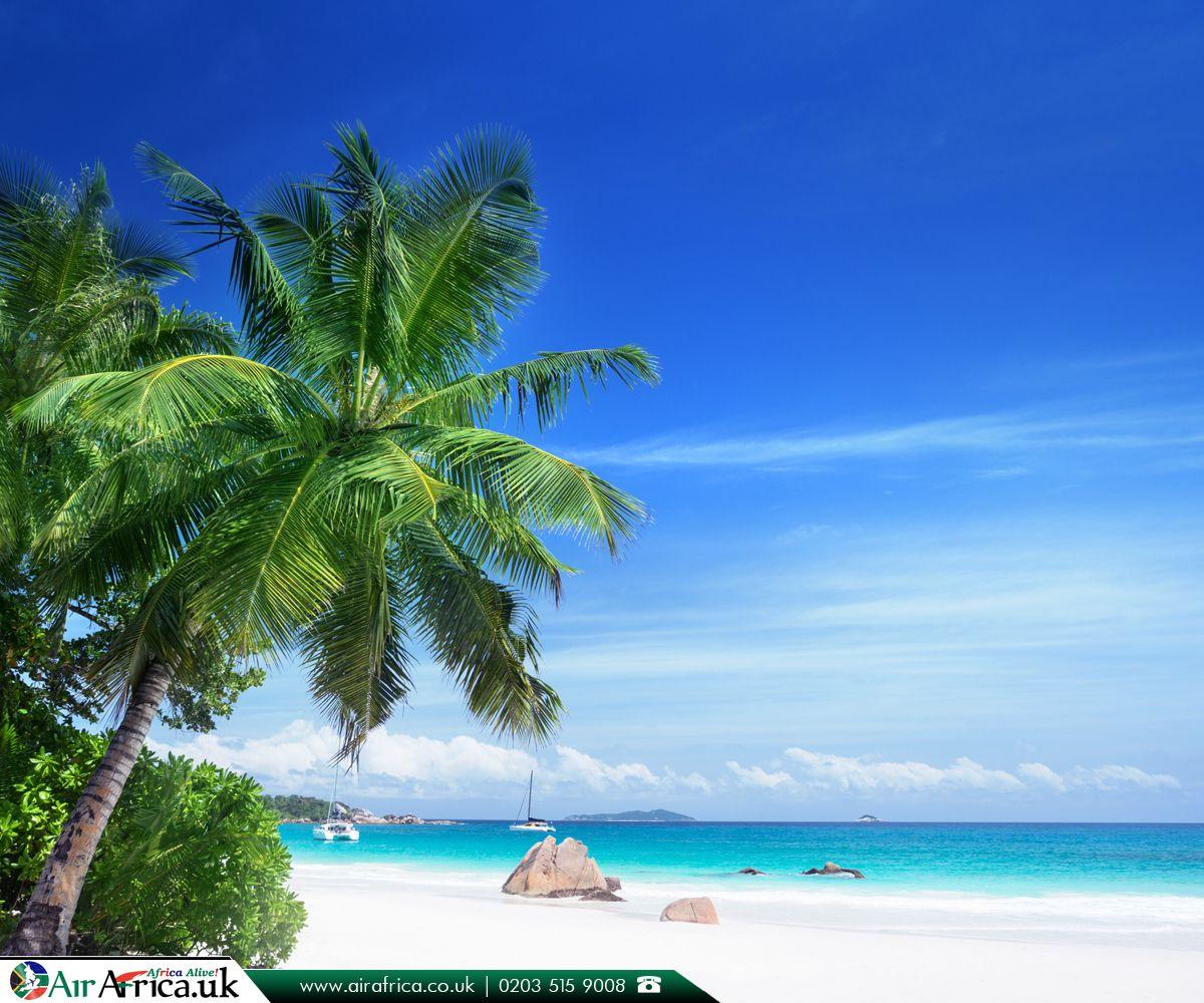 Seychelles Island Beaches: Anse Lazio Is A Beach Situated In