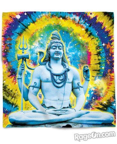 Om Namah Shivaya Bandana - RageOn! - The World's Largest All-Over-Print Online Store