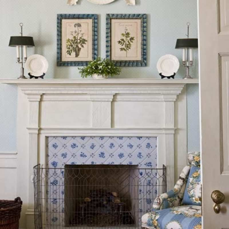 The Timeless Interiors Of Linda Knight Carr The Glam Pad Fireplace Tile White Home Decor Woman Bedroom