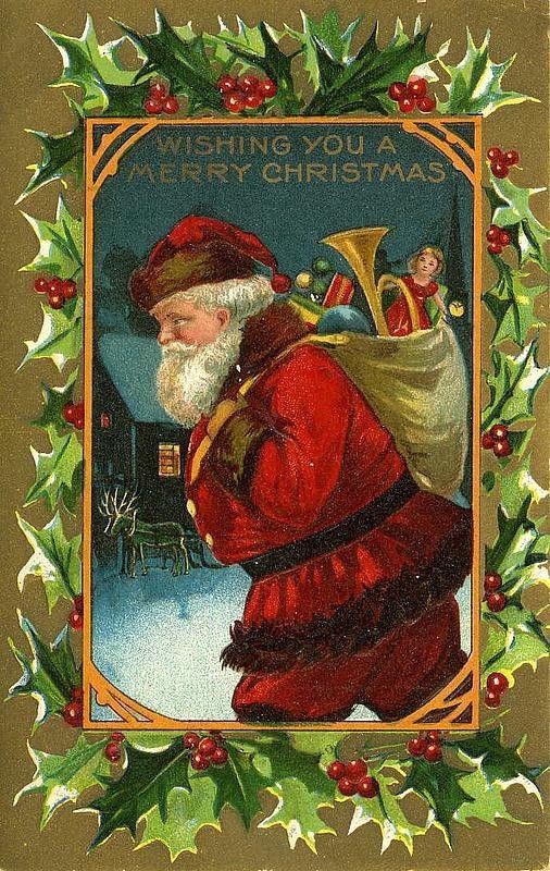 Vintage Santa Claus Santa Claus Vintage 176, Free Wallpapers, Free