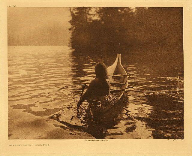 """Medicine Woman Seeking Solitude"" courtesy of the Library of Congress."