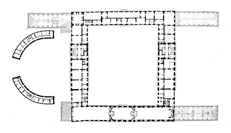 File Stockholms Slott 1 Tr Upp Norr Uppat Jpg Stockholm Palace Floor Plans
