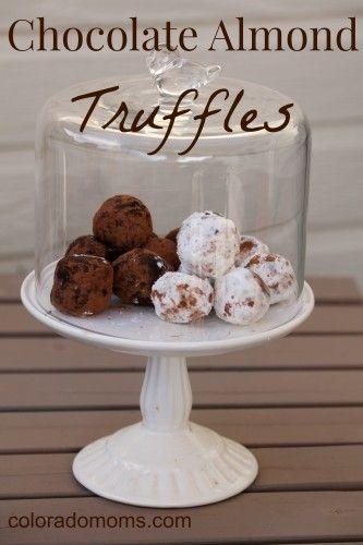 Tasty Tuesday: Chocolate Almond Truffles