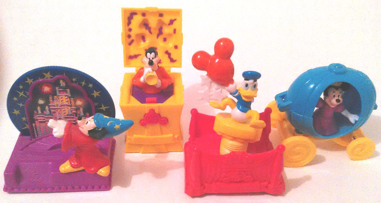 1997 McDonald's Walt Disney 25th Anniversary Japan Mickey Friends Boys Girls | eBay