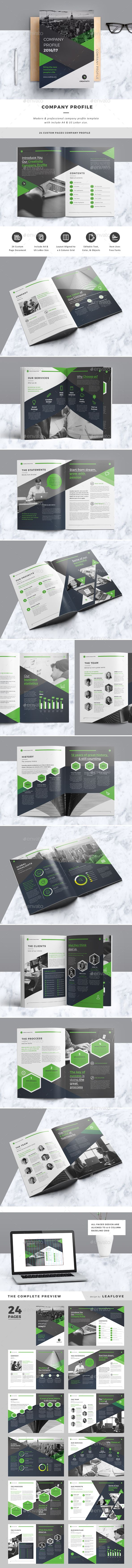 Company Profile | Company profile, Profile and Indesign templates