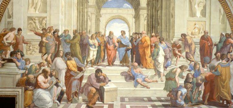 EL RENACIMIENTO: LA ESCUELA DE ATENAS (MIGUEL ÁNGEL). Uno de mis cuadros preferidos del Renacimiento