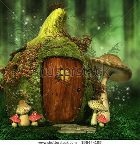 Fairy-mushroom Stock Photos, Images, & Pictures | Shutterstock