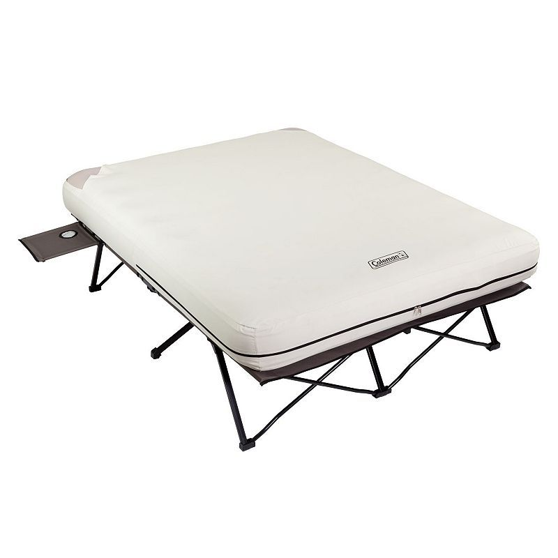 Coleman Queen Air Bed Cot White Coleman Air Mattress Air Mattress Camping Air Bed