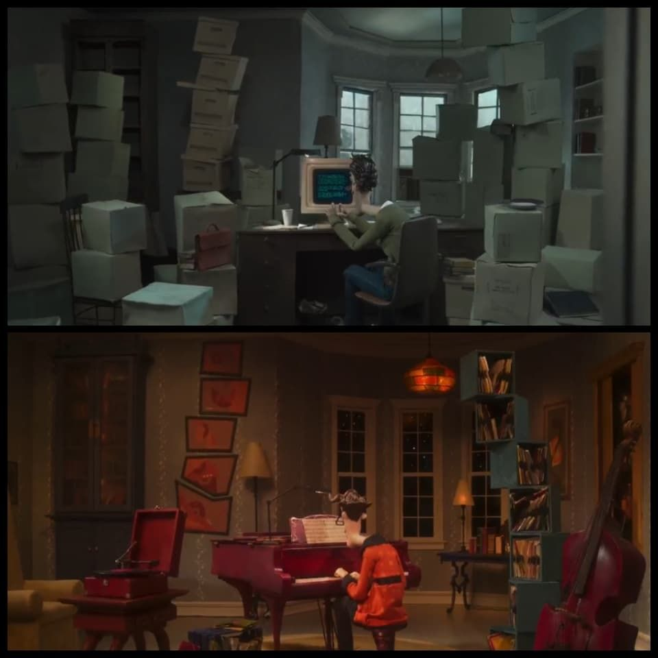 Coraline Real Vs Other World Coraline Aesthetic Coraline Coraline Movie