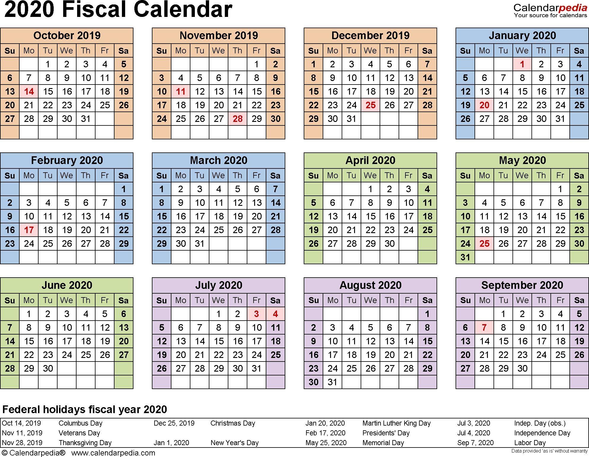 2019 2020 Financial Year Calendar In 2020 Payroll Calendar Excel Calendar Template Calendar Printables