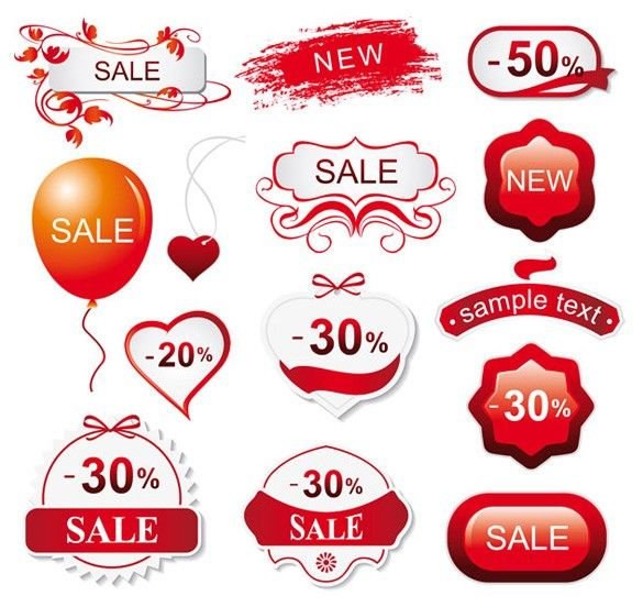 Discount Stickers Sticker Printing Pinterest Vector Free