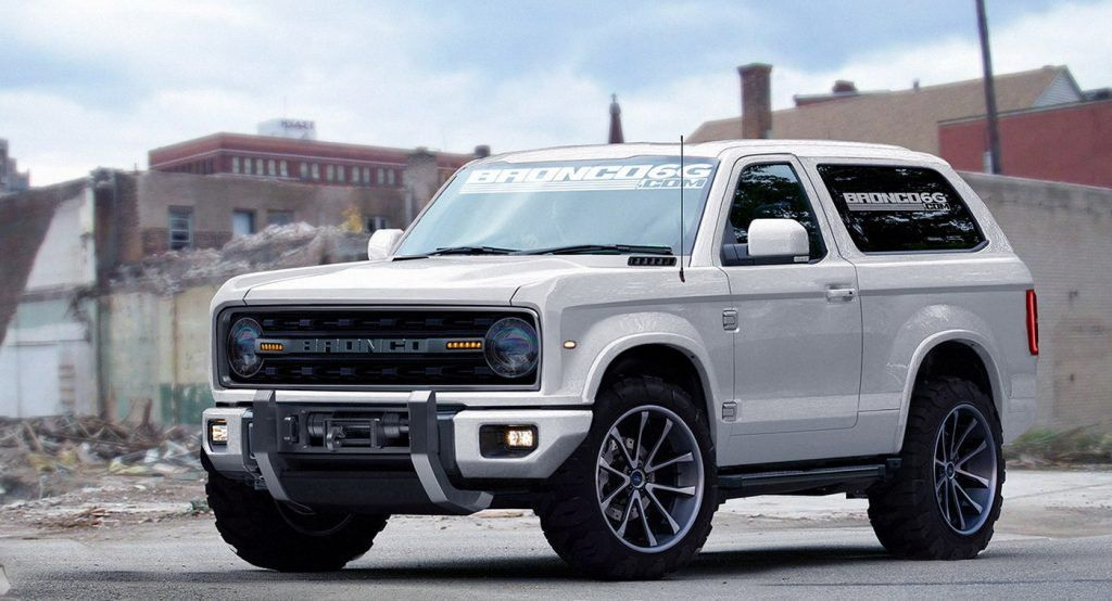 2020 Ford Bronco To Reportedly Offer A Seven Speed Manual
