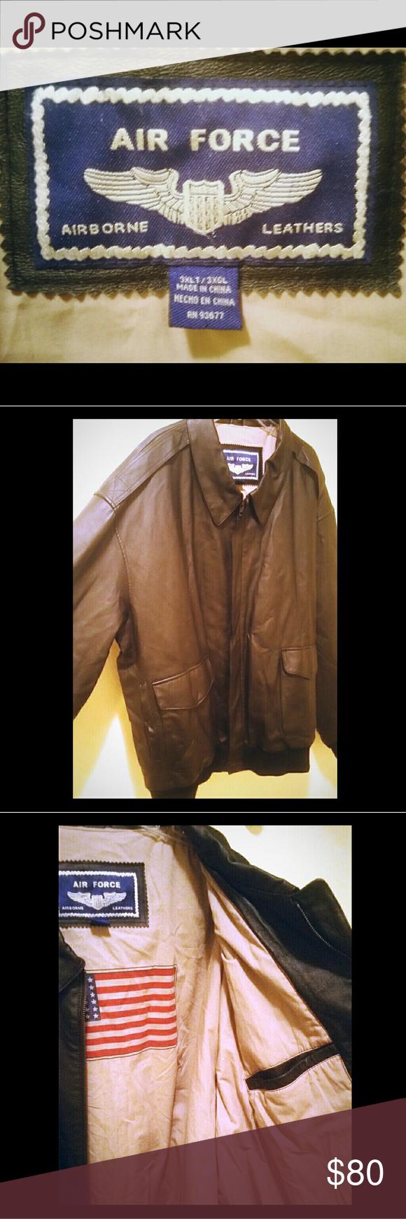 Men Airborne Genuine Leather Jacket 3xt Genuine Leather Jackets Leather Jacket Leather Jacket Men [ 1740 x 580 Pixel ]