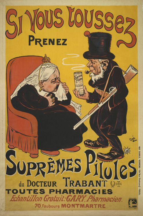Doctor Trabant's Supreme Pills for Coughs