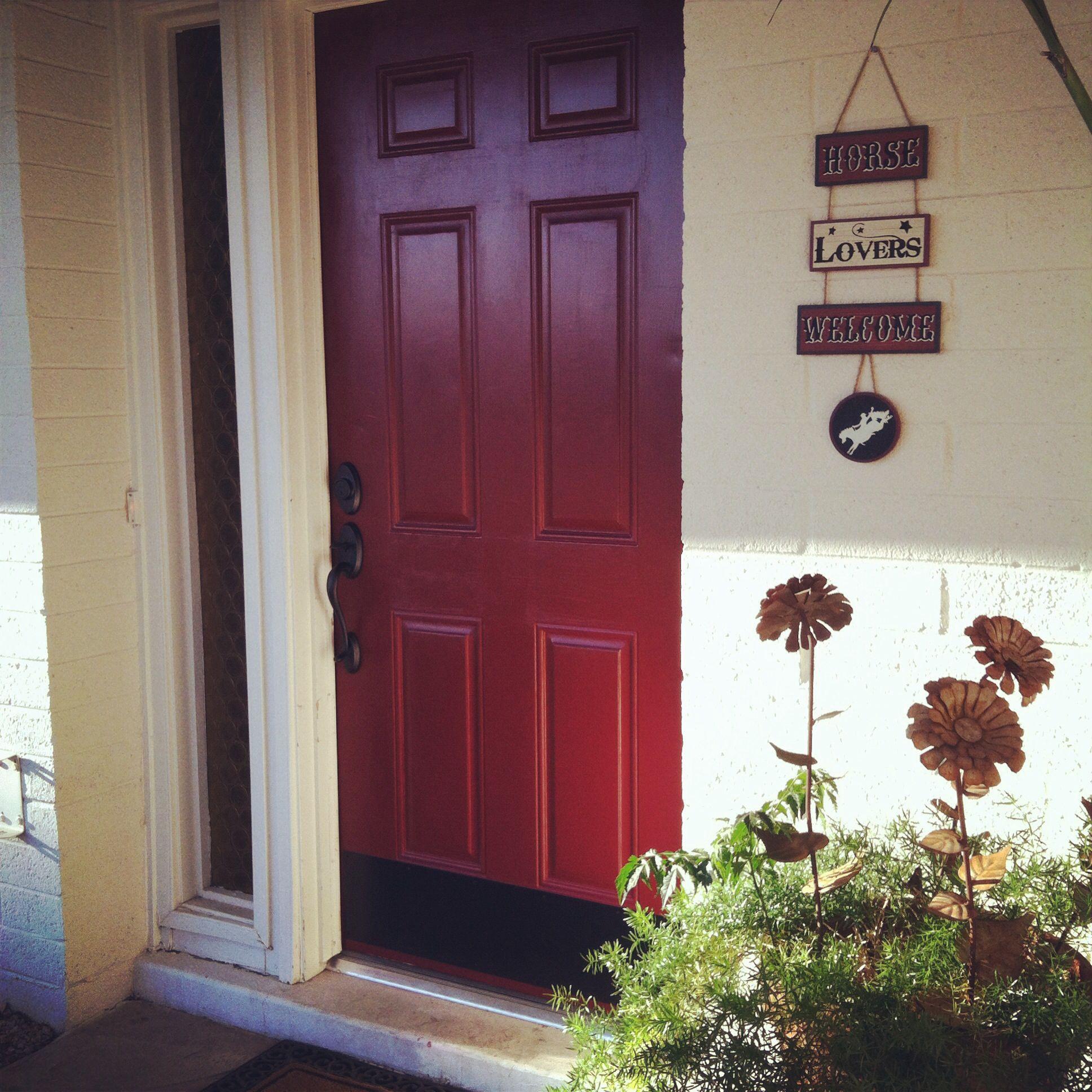 Red Door Sherwin Williams Sundries Tomatoes Pins We Did Pinterest Doors Front Doors