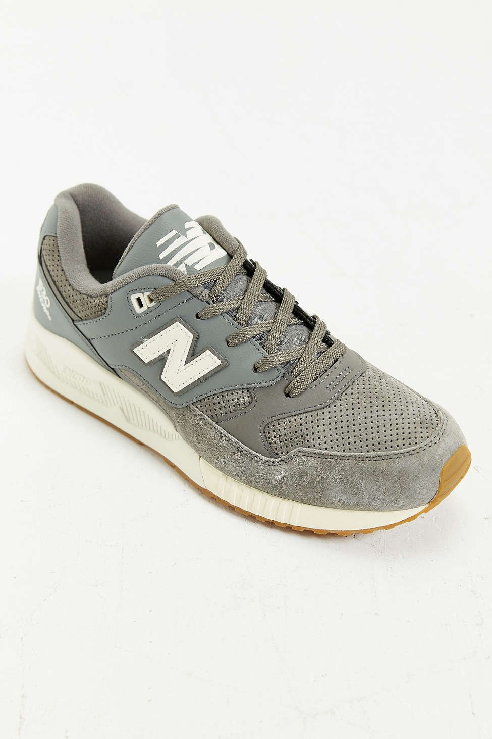 New Balance LOGAN Gris - Chaussures Baskets basses Homme