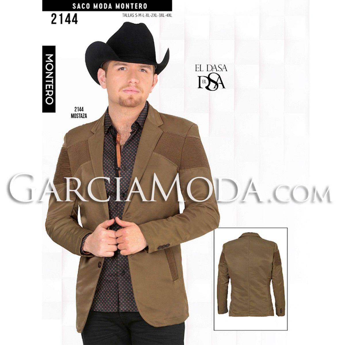 fcdb439ffe Saco Vaquero Montero Western Wear 2144 Mostaza